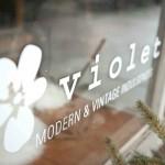 Mocha Violet Home Decor
